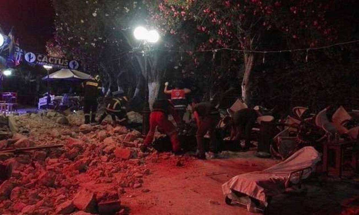 Σεισμός Κως: Άμεση κινητοποίηση του Ελληνικού Ερυθρού Σταυρού