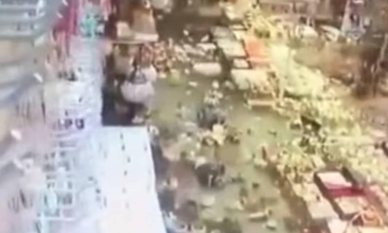 Σεισμός Κως: Πανικός και στην Τουρκία - Ψάρια μέσα σε καταστήματα από το τσουνάμι (vids)