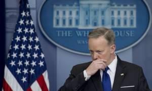 ΗΠΑ: Παραιτήθηκε ο εκπρόσωπος Τύπου του Τραμπ, Σον Σπάισερ