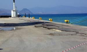 Σεισμός Κως: Το Σάββατο η καθοριστική επιθεώρηση για το λιμάνι