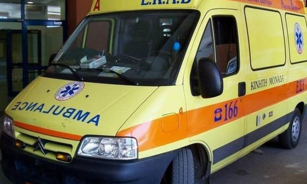 Τροχαίο με πέντε τραυματίες στο Ηράκλειο Κρήτης