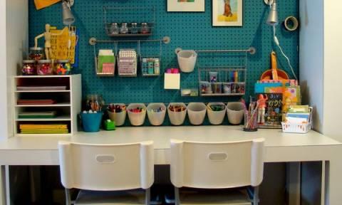 Art deco: Δωμάτια για παιδιά που αγαπούν τη ζωγραφική