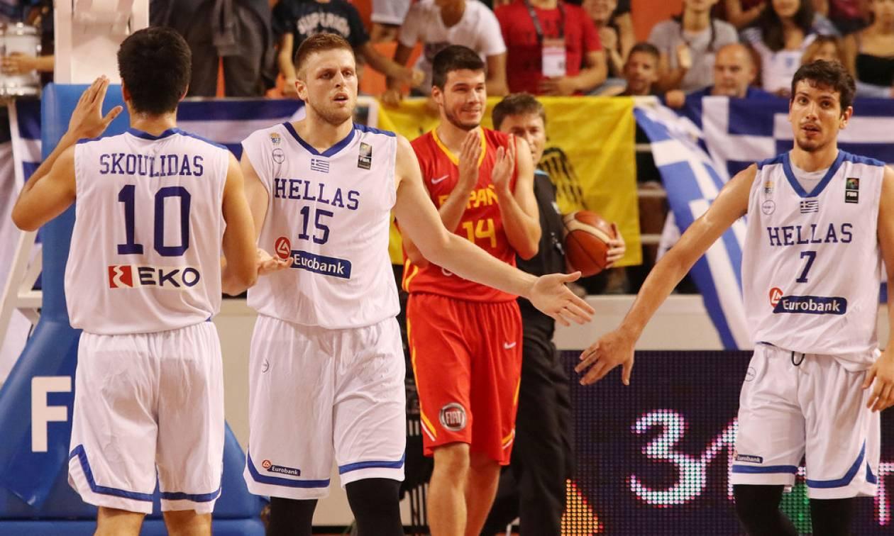 Ελλάδα-Ισπανία 77-56: Την «κατάπιε» και τώρα... κούπα!
