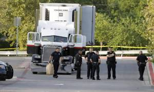Φρίκη στο Τέξας: Εννέα νεκροί και δεκάδες τραυματίες βρέθηκαν σε καρότσα φορτηγού