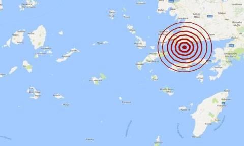 Σεισμός: Νέος μετασεισμός ανατολικά της Κω (pic)