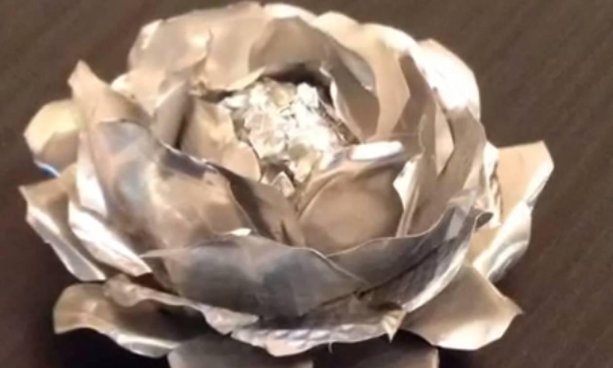 Δέκα διαφορετικοί τρόποι απ' τον συνηθισμένο, για να χρησιμοποιείτε το αλουμινόχαρτο (video)