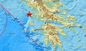 Σεισμός στη Λευκάδα - Αισθητός στην Πρέβεζα