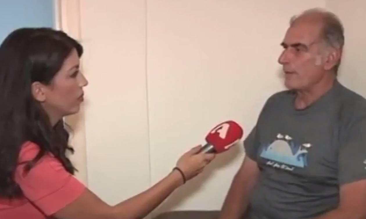 Αυτός είναι ο επιχειρηματίας που ξυλοφόρτωσε τον εφοριακό στην Πάτμο: Ήθελα να τον πνίξω! (vid)