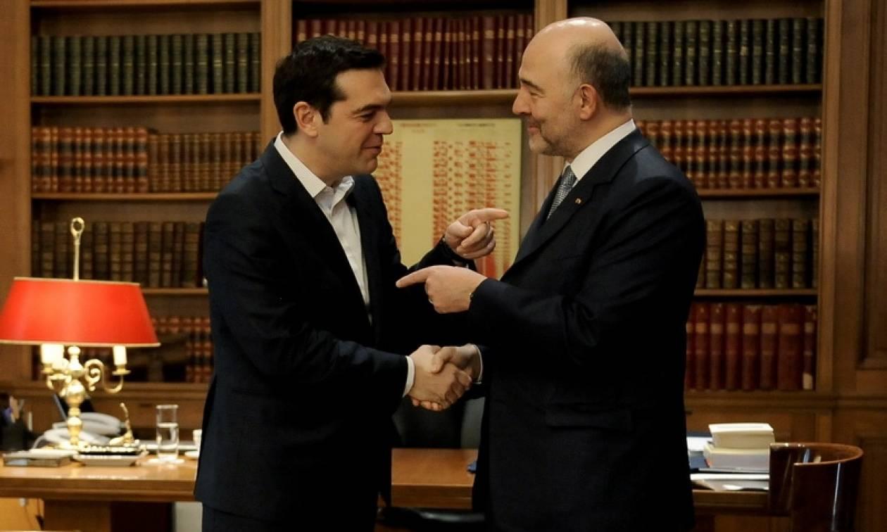 Το πρόγραμμα του Πιερ Μοσκοβισί στην Αθήνα