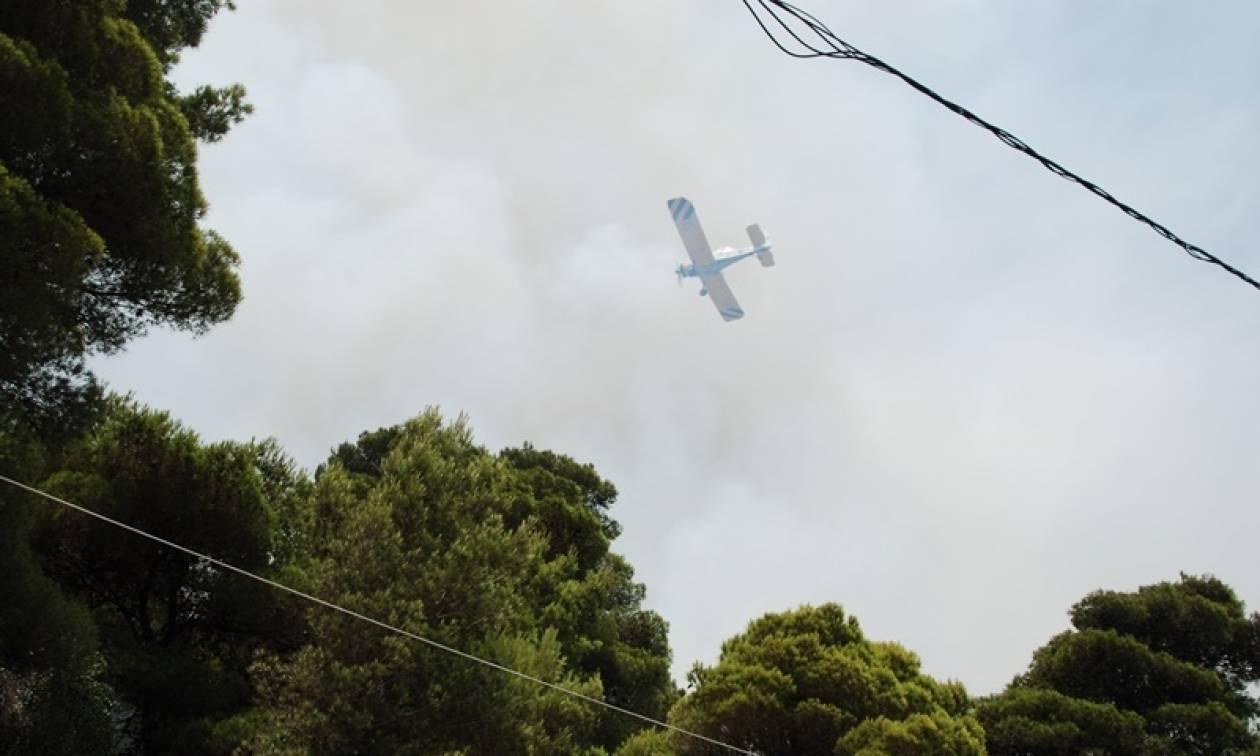 Σε εξέλιξη πυρκαγιά στις Λούτσες Κέρκυρας – Μεγάλη δύναμη της Πυροσβεστικής στο σημείο