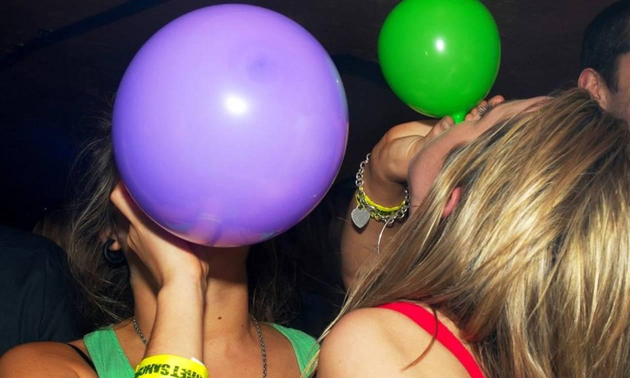 Συναγερμός στη Ρόδο με «αέριο γέλιου» - Σύλληψη δυο επιχειρηματιών που το διοχέτευαν σε μπαλόνια