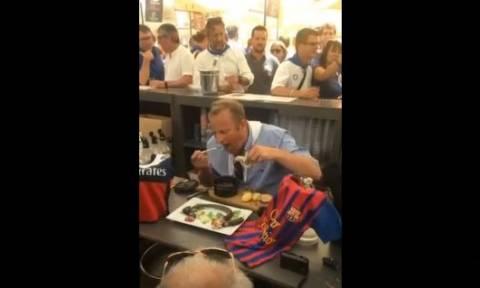 Αηδία: Γάλλος δήμαρχος έβαλε στοίχημα να φάει αρουραίο αν η ομάδα του έχανε! Και έχασε... (Video)