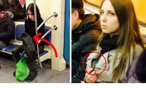 Viral: Αυτοί είναι οι πιο αλλόκοτοι άνθρωποι που έχετε δει ποτέ στο μετρό (Pics)