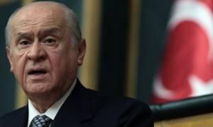 Νέο παραλήρημα Μπαχτσελί κατά της Ελλάδας: Θα σας ρίξουμε πάλι στη θάλασσα με χαρά (vid)
