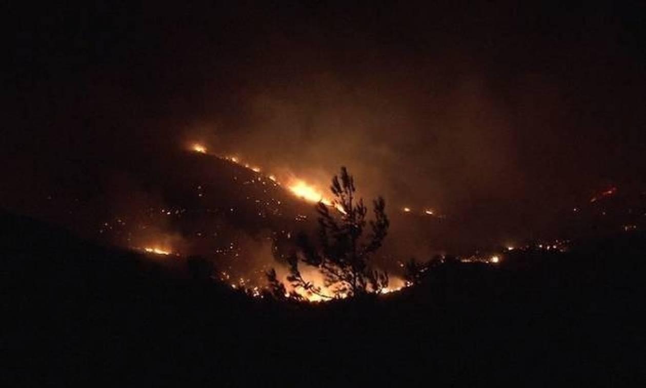 Φωτιά: Σε ύφεση μετά από 30 ώρες η πυρκαγιά στην Κέρκυρα