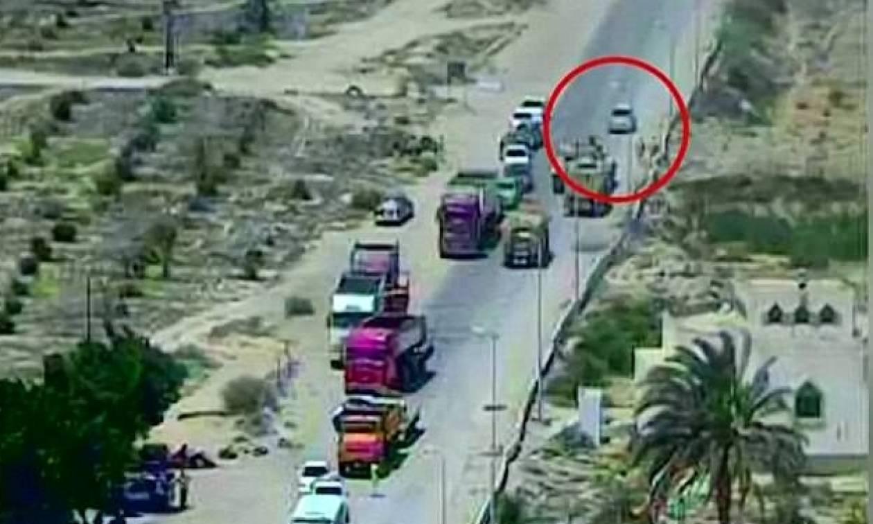 Απίστευτο βίντεο: Τανκ συνθλίβει παγιδευμένο με εκρηκτικά αυτοκίνητο σώζοντας δεκάδες ζωές (vid)