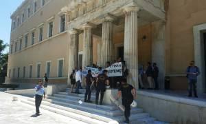 Εισβολή του «Ρουβίκωνα» στη Βουλή