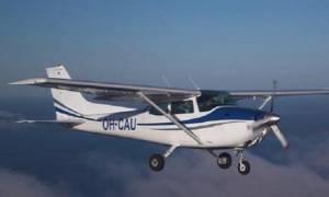 Πτώση αεροπλάνου στη Λάρισα: Δείτε τις πρώτες φωτογραφίες από το σημείο των ερευνών