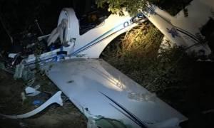 Πτώση αεροπλάνου στη Λάρισα: Έτσι σημειώθηκε η τραγωδία με τους δυο νεκρούς