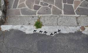 Viral: Όταν ο «βανδαλισμός» γίνεται τέχνη (Pics)