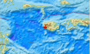 Ισχυρός σεισμός 6 Ρίχτερ συγκλόνισε την Ινδονησία