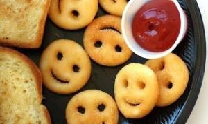 Φτιάξε σήμερα αυτές τις πατάτες σε σχήμα emoji και βγάλε το παιδί που κρύβεις μέσα σου