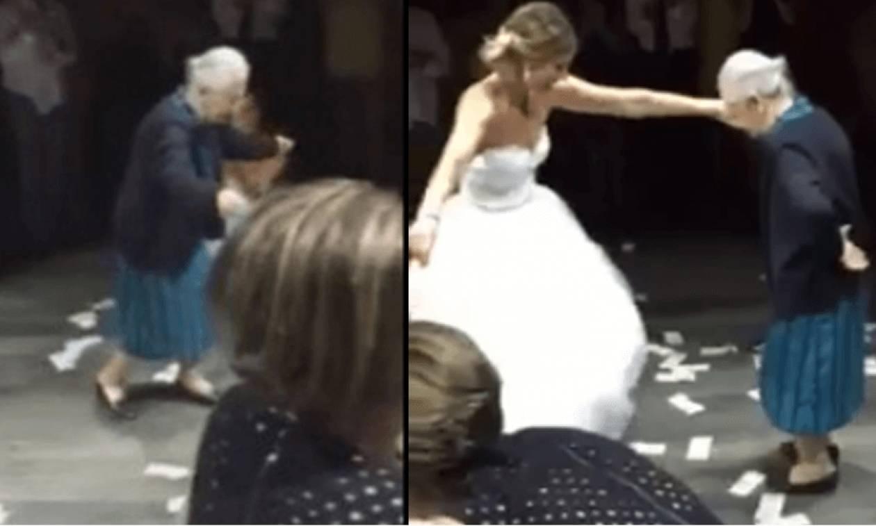 Η 98χρονη Ελληνίδα που έκανε θραύση σε γάμο στο εξωτερικό (video)