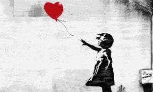 Το κορίτσι με το μπαλόνι του Banksy είναι και με τη βούλα κλασικό έργο τέχνης