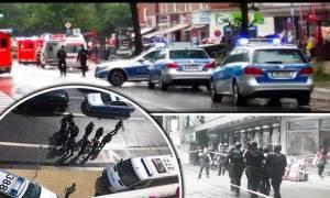 Συναγερμός στο Αμβούργο: Ένας νεκρός και τέσσερις τραυματίες από επίθεση με μαχαίρι (pics+vid)