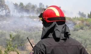 Φωτιά ΤΩΡΑ στα Καλύβια Αττικής