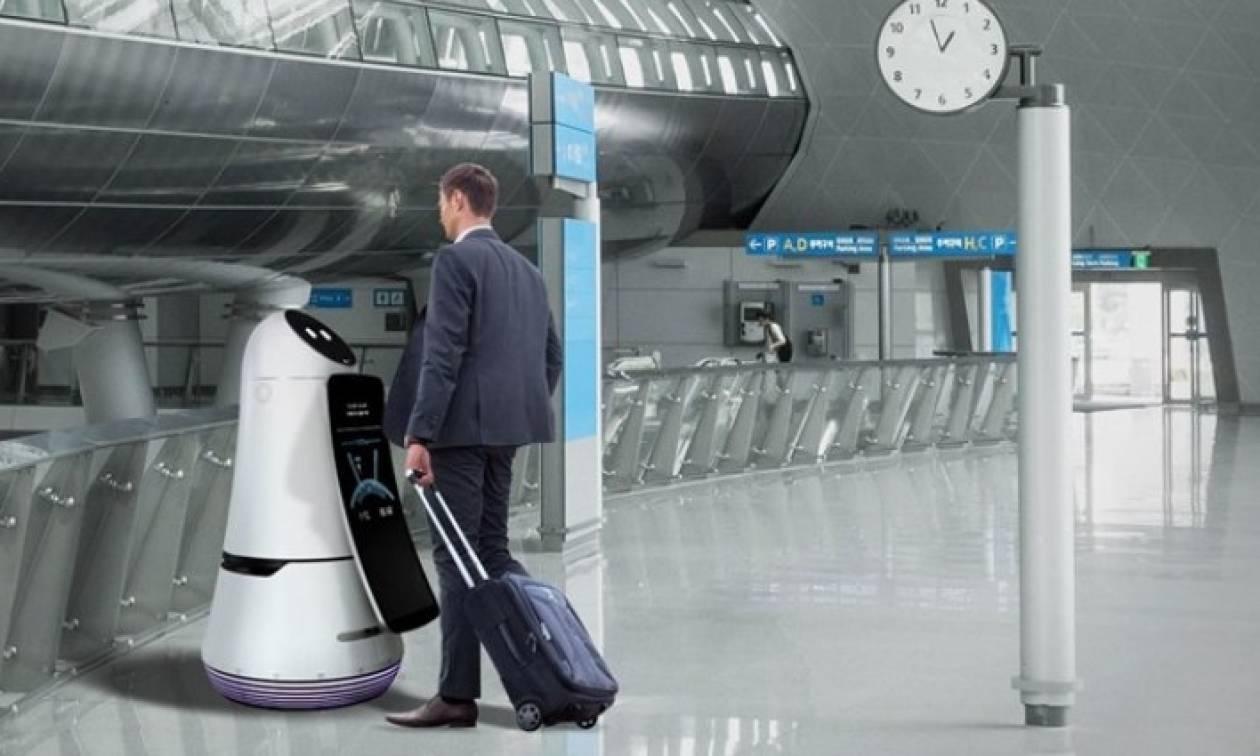 Ρομπότ πλέον... ενημερώνουν τους ταξιδιώτες στο αεροδρόμιο της Σεούλ!