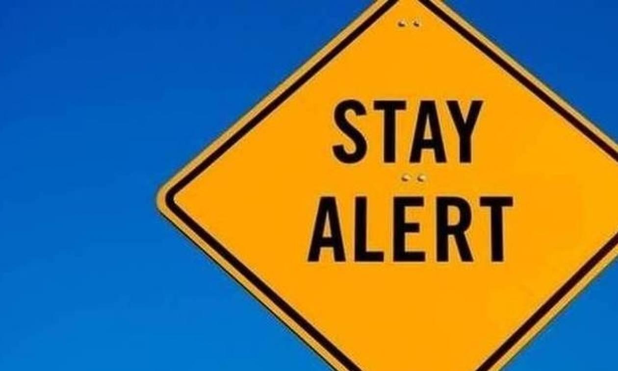 Η Γενική Γραμματεία Πολιτικής Προστασίας προειδοποιεί: Προσέξτε ΟΛΟΙ τις επόμενες ώρες!
