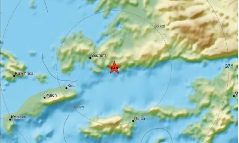 Σεισμός στην Κω (ΧΑΡΤΕΣ)