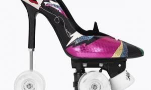 Tα παπούτσια της σεζόν είναι roller skates και stilettos... μαζί!