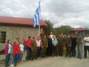 O Αρχηγός ΓΕΣ στα ελληνοαλβανικά σύνορα