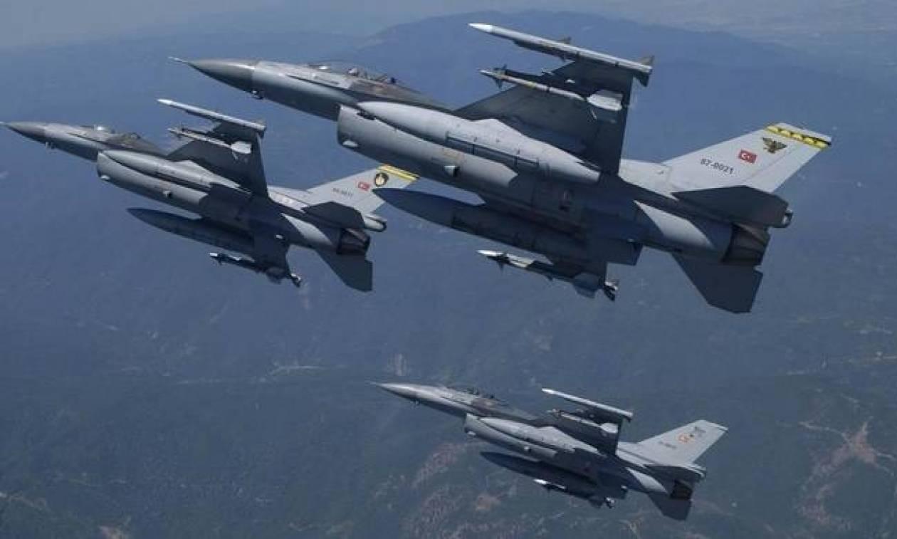Παίζουν με τη φωτιά οι Τούρκοι: Οπλισμένα μαχητικά στο Αιγαίο