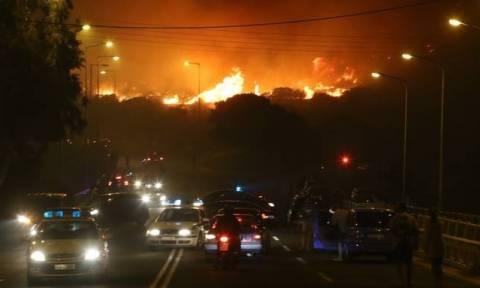 Пожар в Каливья удалось взять под контроль