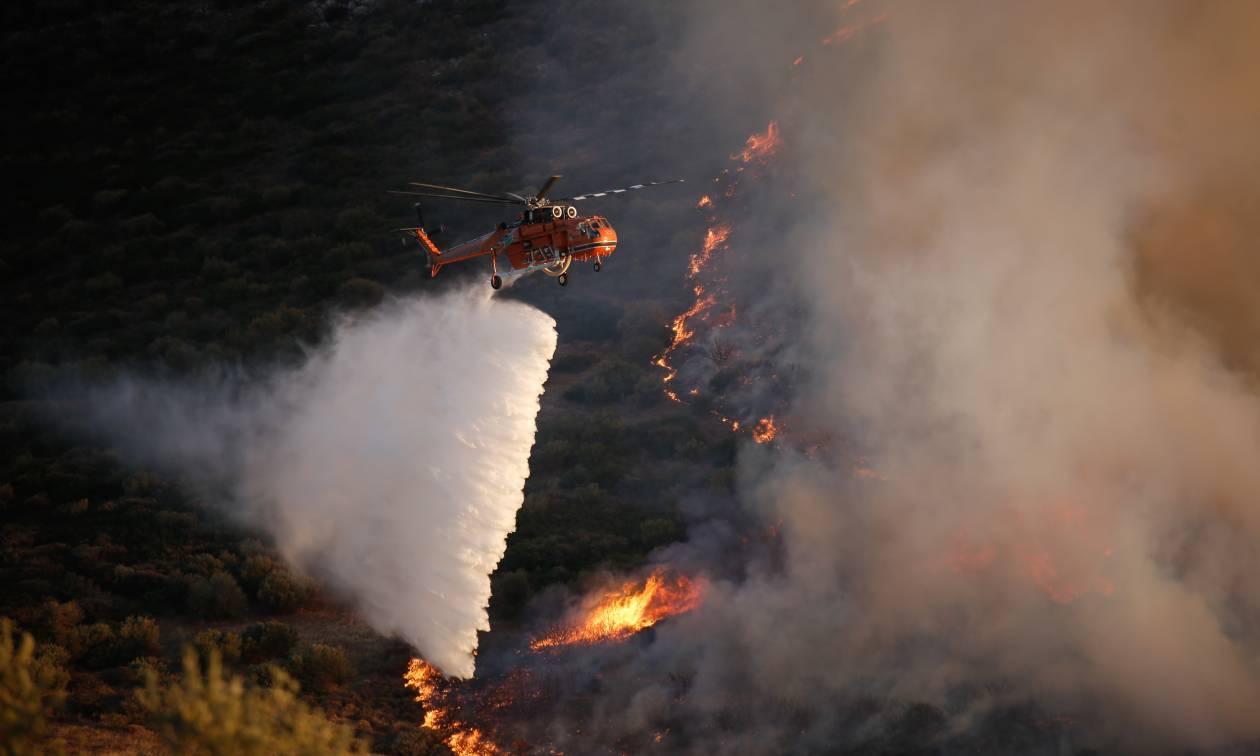 Φωτιά τώρα: Ποια η κατάσταση των πύρινων μετώπων - Οι περιοχές που κινδυνεύουν σήμερα (01/08)