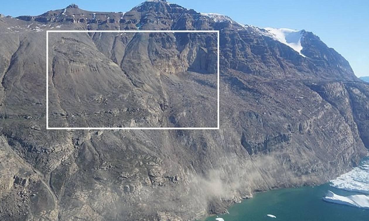 Κατολίσθηση προκάλεσε το τσουνάμι «γίγας» στη Γροιλανδία - Κύματα ύψους 90 μέτρων (pics & vid)