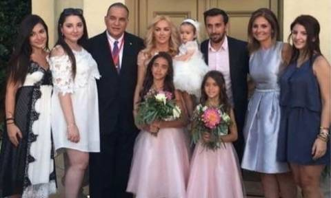 Θάνος Πετρέλης: Φωτογραφίες από τη βάπτιση της κόρης του