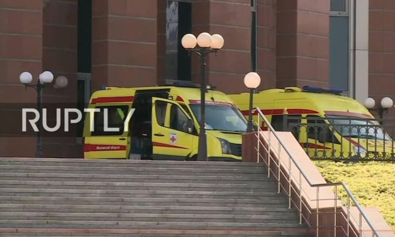 Συναγερμός στη Μόσχα: Πυροβολισμοί με τρεις νεκρούς μέσα σε δικαστήριο