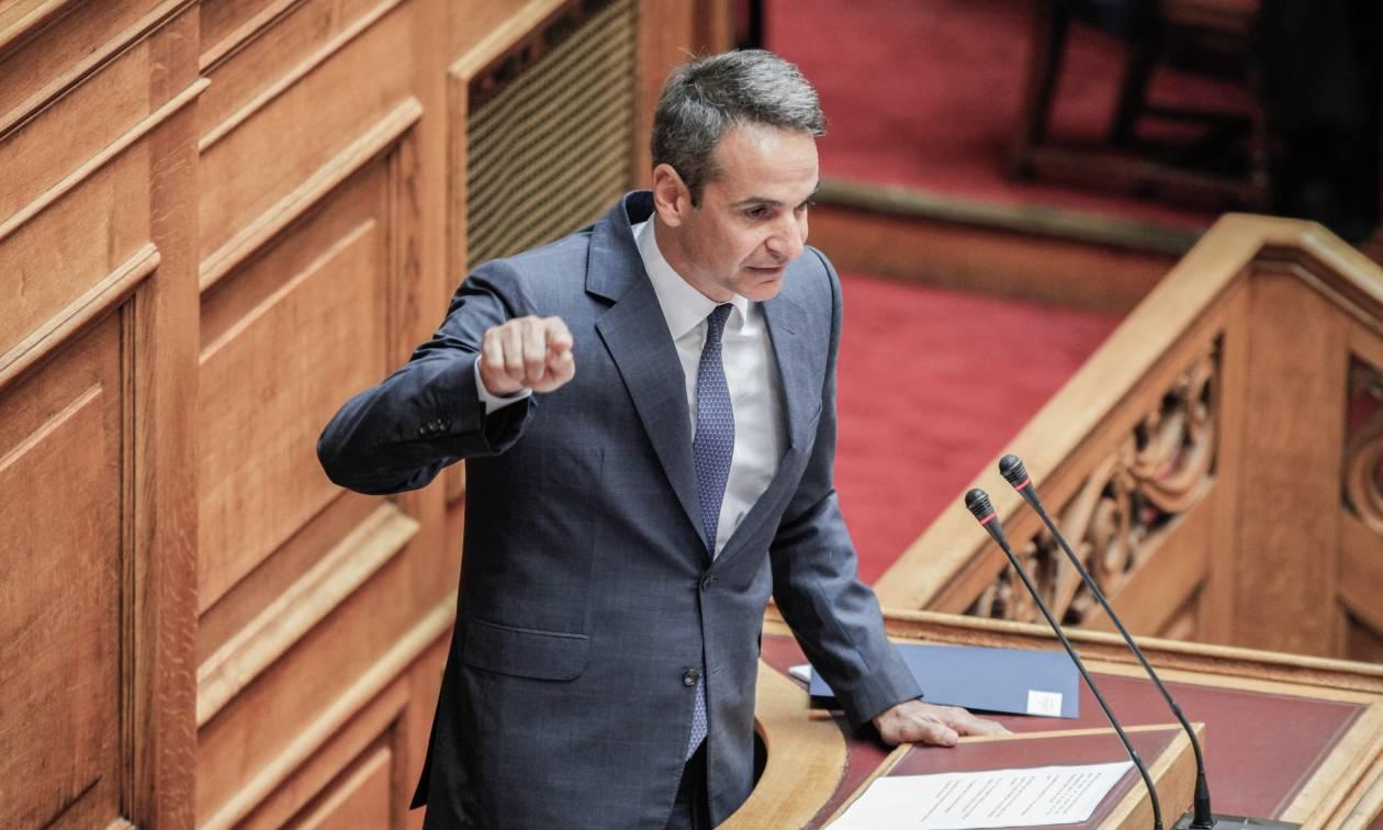 Απίστευτο «τρολάρισμα» Μητσοτάκη σε Τσίπρα στη Βουλή (pic)
