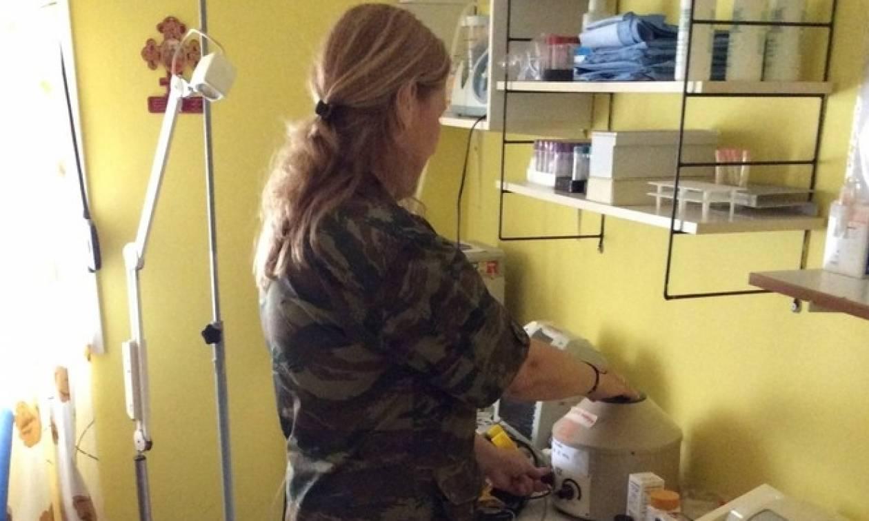 Ιατρικά κλιμάκια του Δ' Σώματος Στρατού σε ακριτικά χωριά της Θράκης