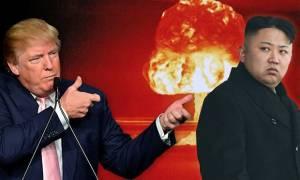 Παγκόσμιος τρόμος: «Ο Τραμπ είναι έτοιμος για πόλεμο με τη Βόρεια Κορέα»
