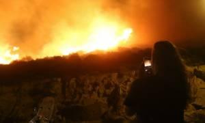 Φωτιά ΤΩΡΑ: Σε πλήρη εξέλιξη η πυρκαγιά στις Σπέτσες