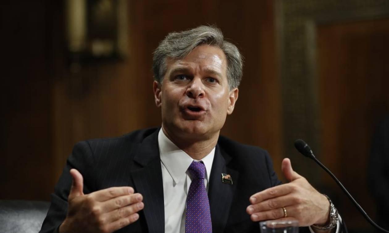 ΗΠΑ: O Κρίστοφερ Ρέι είναι ο νέος διευθυντής του FBI