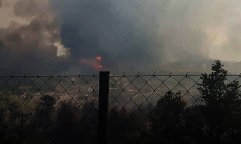 Wildfire on Spetses under control