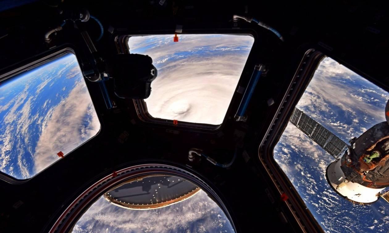 Εντυπωσιακό: Δες πώς φαίνεται από το Διάστημα η μεγαλύτερη καταιγίδα στον πλανήτη! (pics)