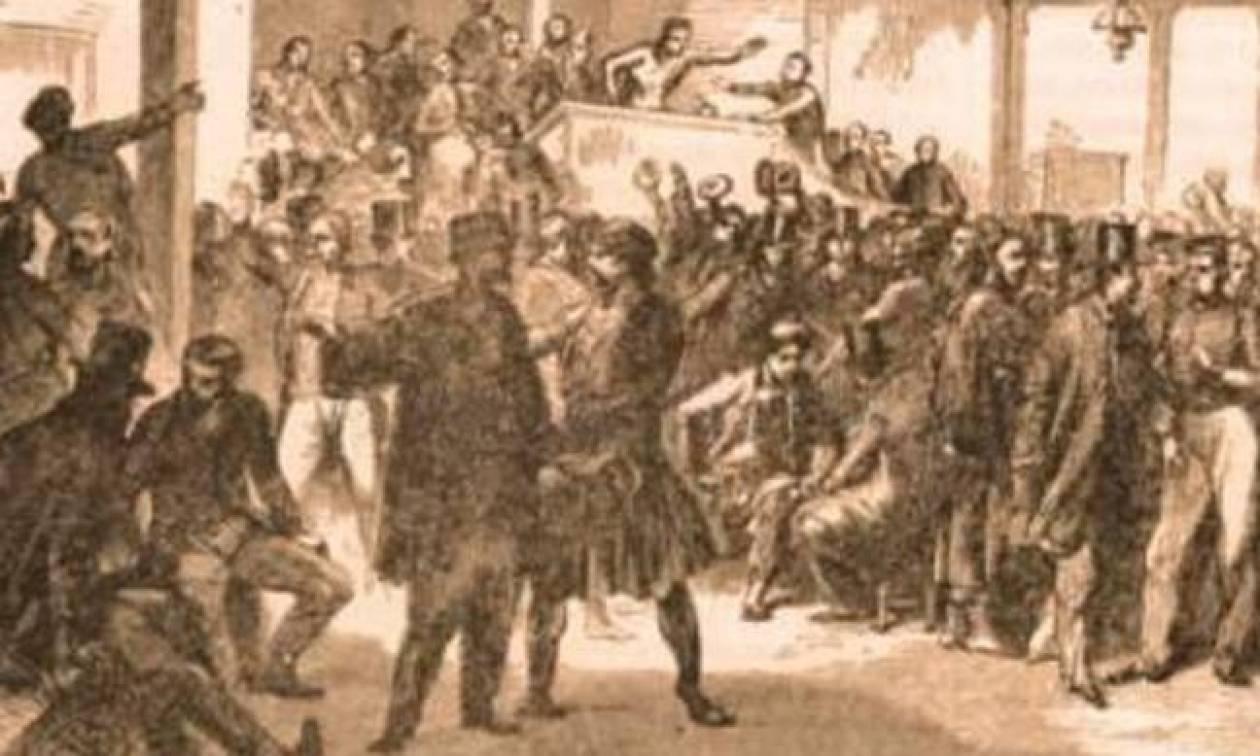 Σαν σήμερα το 1844 διεξάγονται οι πρώτες εκλογές στην Ελλάδα επί Όθωνα