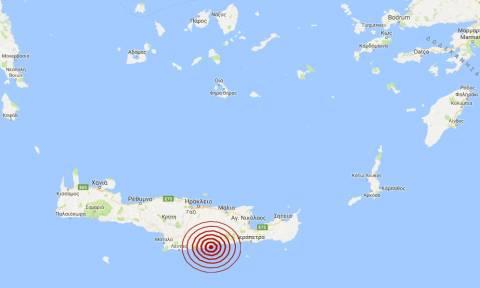 Σεισμός νότια του Ηρακλείου Κρήτης (pics)
